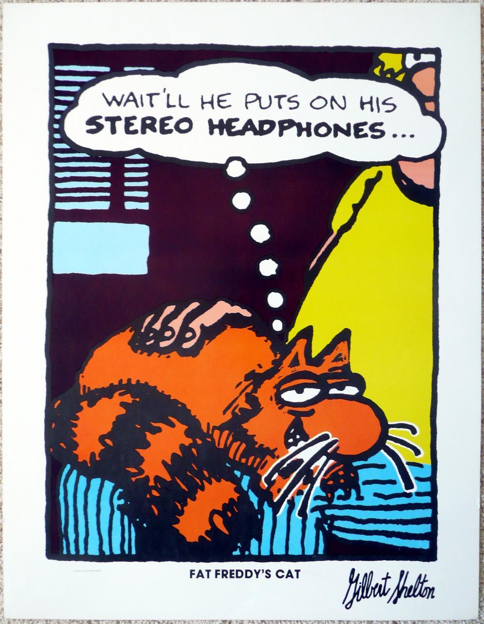 Fat Freddy's Cat-Gilbert Shelton poster.jpg