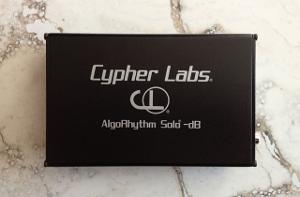 Cypher Labs AlgoRhythm Solo -dB DAC for Apple, android and computers. 24/192 capable.