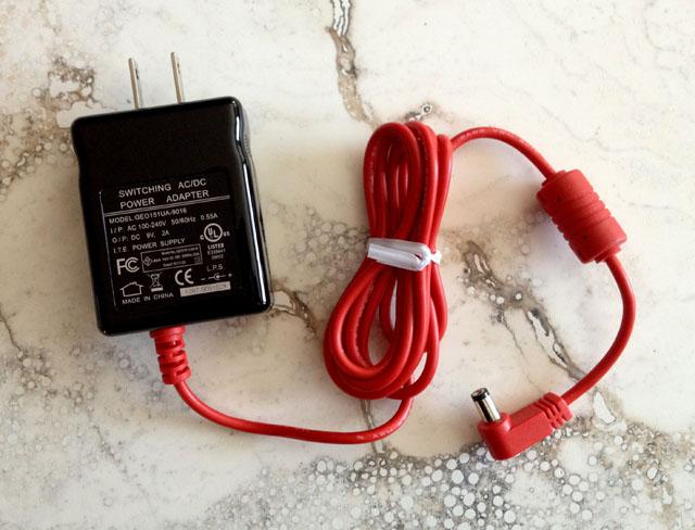 AC power supply for the rechargeable and portable Cypher Labs AlgoRhythm Solo -dB DAC for Apple,...
