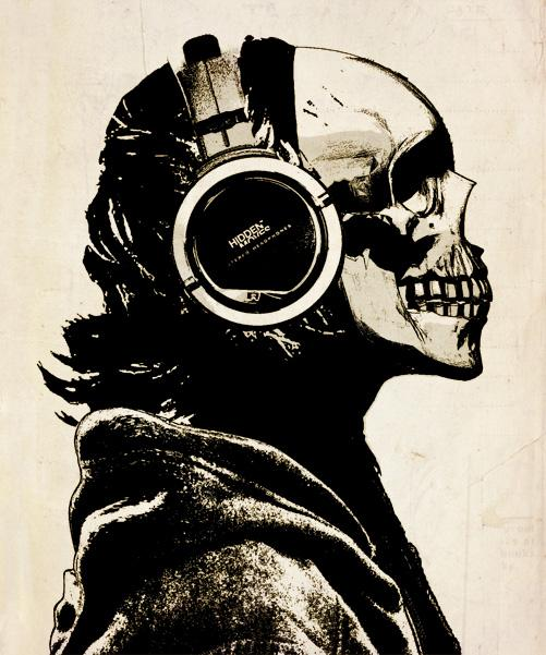 Music, even after death.