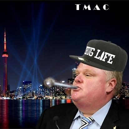 Doofus December Mayor of Toronto Rob Ford