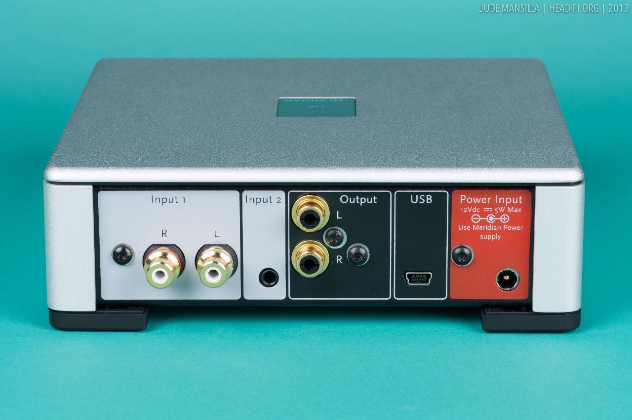 Meridian Prime Headphone Amplifier.