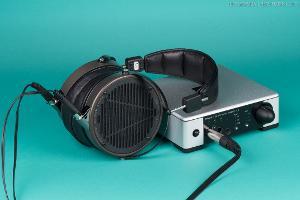 Meridian Prime Headphone Amplifier with Audeze LCD-X.