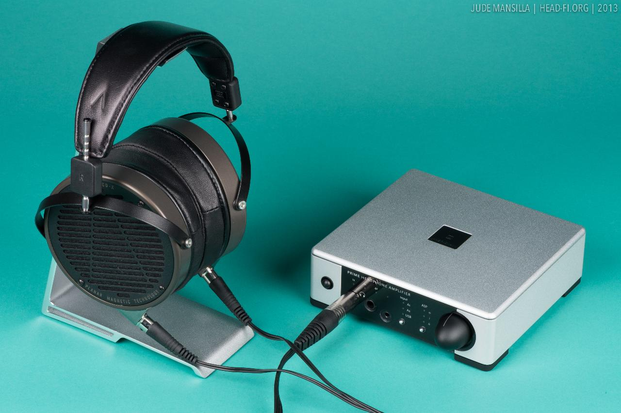 Meridian Prime Headphone Amplifier with Audeze LCD-X.