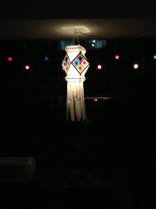 Diwali Lantern made by my sister.