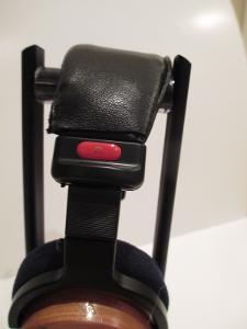 Leather covered Sony 7506 Headband