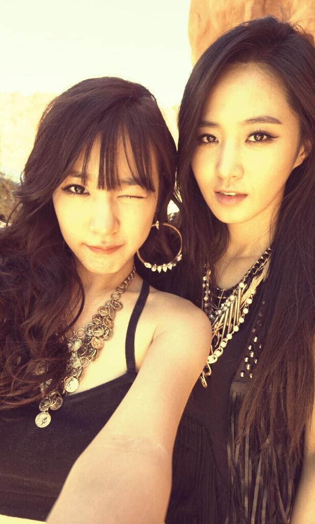Tiffany and Yuri from Girls' Generation!