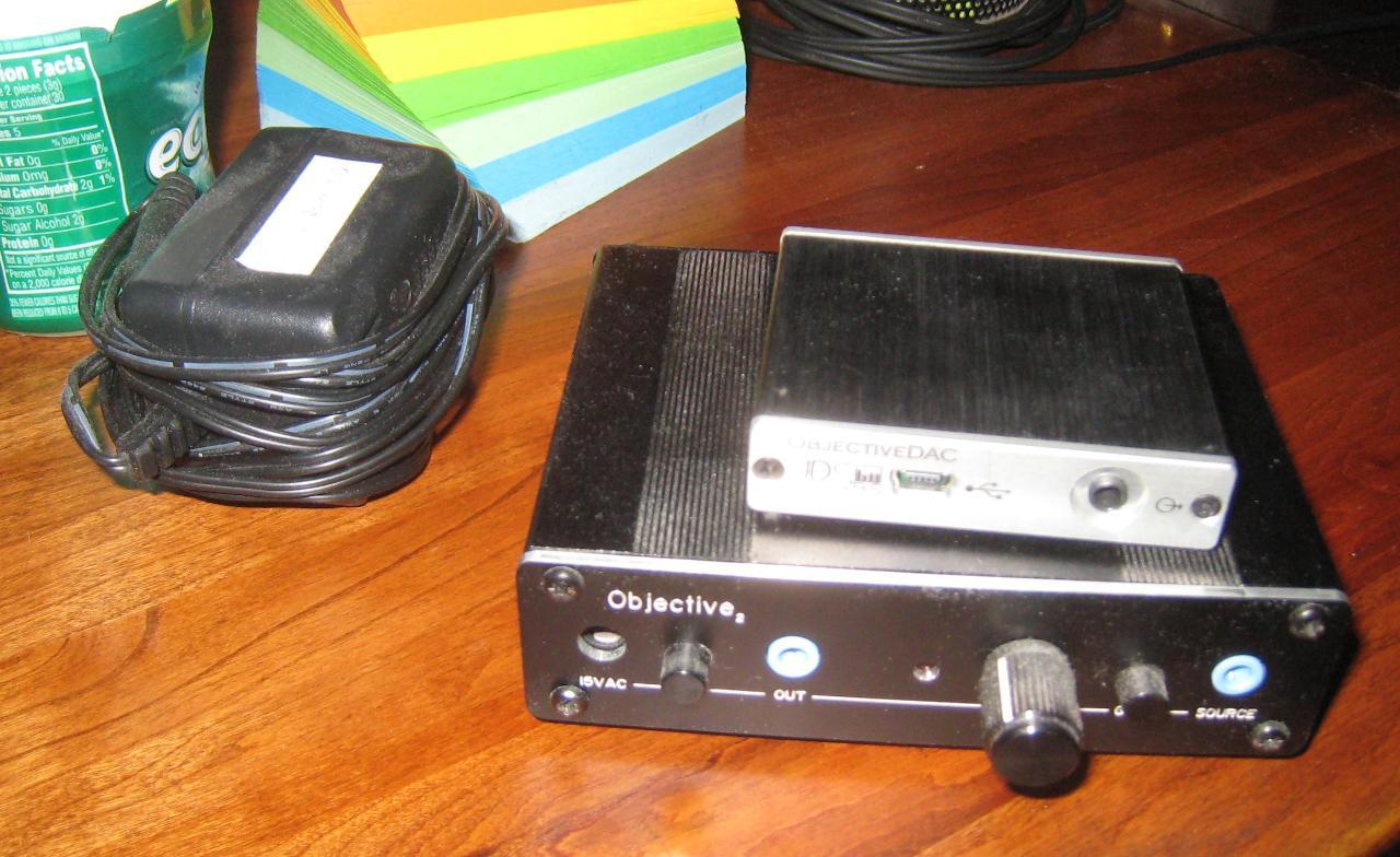 O2 amp and ODAC.