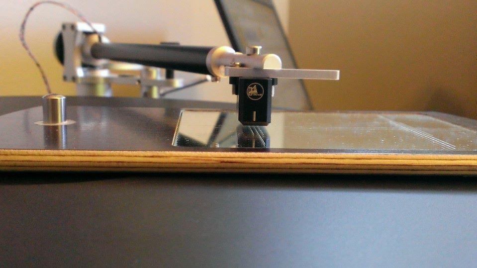 CA Concept Cart on a custom mirror protractor