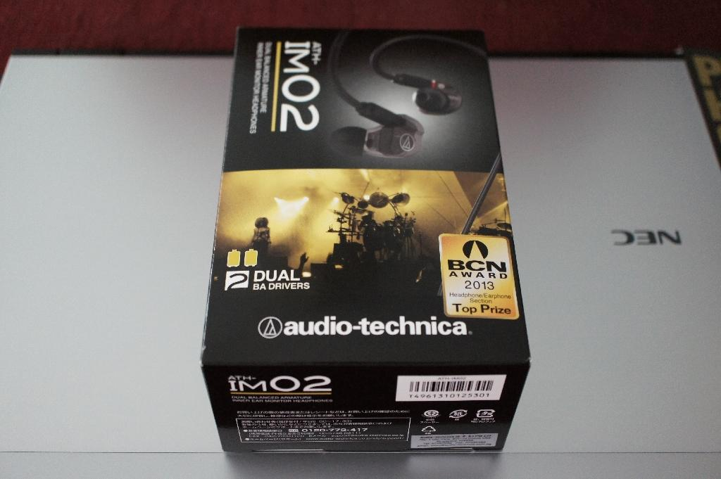 Unboxing of Audio-technica's ATH-IM02 Image 2