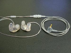 Sensaphonics 2MAX custom with all-silicone earpieces