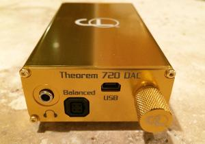 Cypher Labs  Theorem 720 Copper DAC - a 24/192 DAC, headphone amplifier and USB Line-in for...