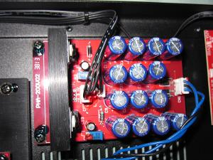 linear supply diode rectifier bridge on the far right large capacitor reserve could be...