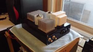 """The final iteration of what started as a Millett """"Starving Student"""" amplifier. More than 2 years..."""