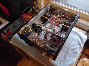"The final iteration of what started as a Millett ""Starving Student"" amplifier. More than 2 years..."