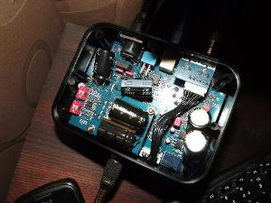 Aune T1 after capacitor change to ELNA SilmicII`s.
