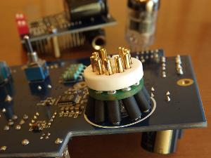 Socket upgrade to CMC gold plated OFC pins ceramic socket. 