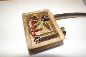 Insight of HD-681 mk2 filter box. Oak, un-oiled.