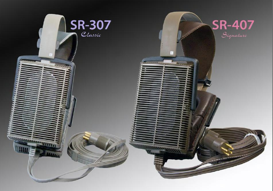 Stax SR307 and SR407