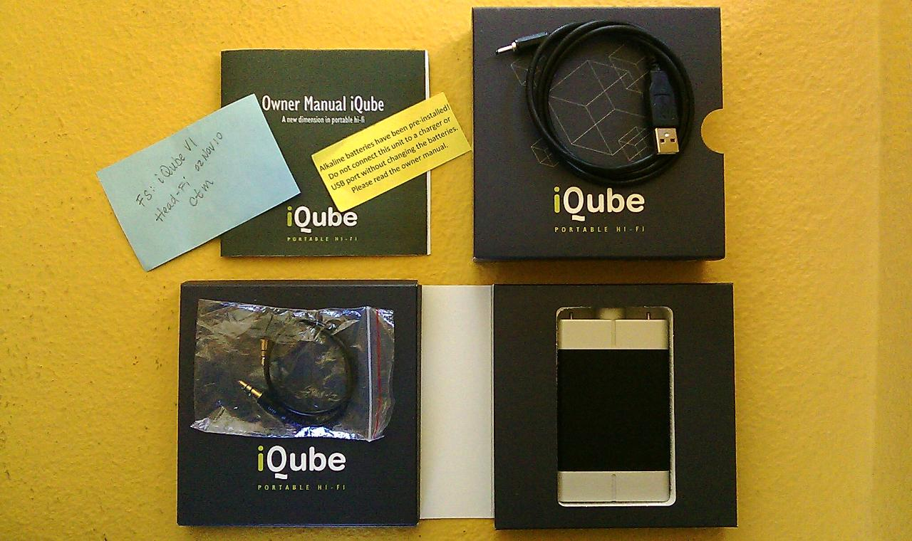 iQube V1 Package