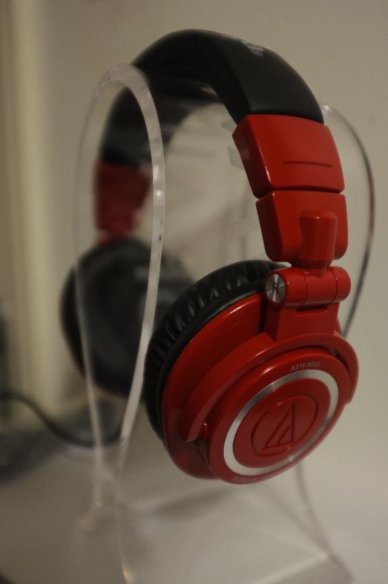 AUDIO TECHNICA ATH-M50 LTD Edition colour red