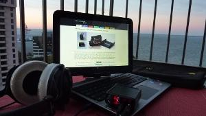 Hp TM2T, PA2V2 amp, Beyer DT770's 250ohm with gel ear pads