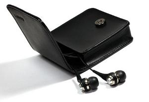 MDR-EXQ1 & Leatherette case
