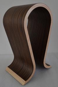 AKG K812 supplied Omega walnut headphone stand