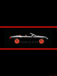 Bentley beats logo photo manipulation art