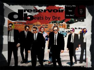 dreservoir beats by dre photo manipulation pop art