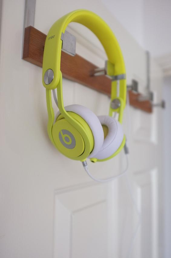 beats mixr neon yellow