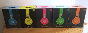 beats mixr neon blue, yellow, pink, green & orange