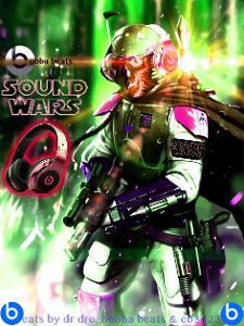 beats studio / starwars photo manipulation art