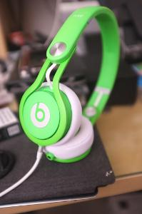 beats mixr neon green