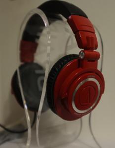 AUDIO TECHNICA ATH-M50 LTD Edition Red Colour