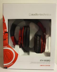 AUDIO TECHNICA ATH-M50 RED