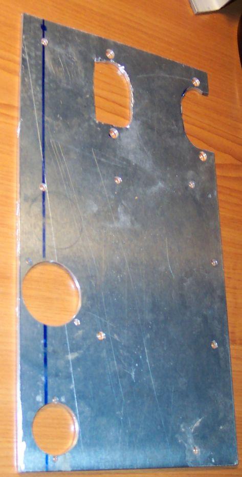 Machined base plate