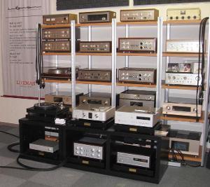 Luxman listening room aka heaven on earth