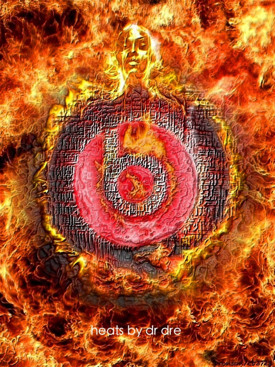 heats by dre - photo manipulation pop art