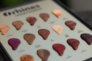 rhines customs wood faceplate options