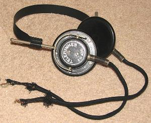 German army headset, circa 1942