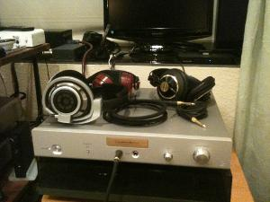 Luxman P-1u with HD800 and others