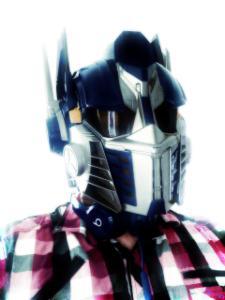 Beats solo2 navy blue (Transformers: Optimus Prime)