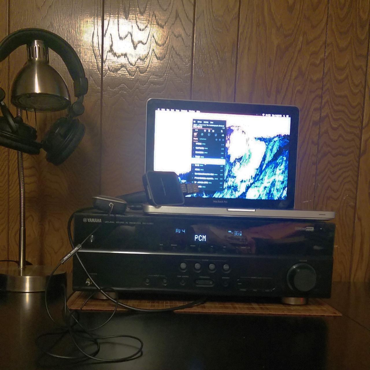 I'm a newbie to the world of Hi-Fi music. This is my current setup. A Macbook Pro, Vox...