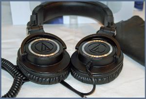 Audio Technica ATH-M50. (My first full size headphone)