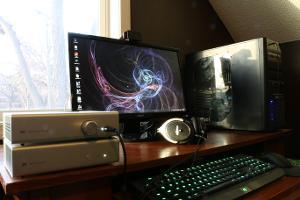 Desktop setup.