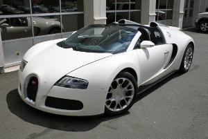 Bugatti Veyron 16.4 Grand Sport - 1 Week Rental in Greenwich, CT.