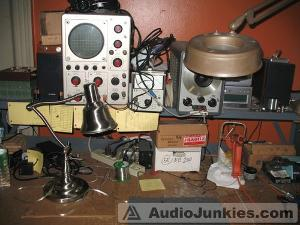 Amplifier quality control station