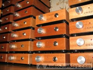 Just a few RA1 headphone amplifiers. Like everything else the woodwork and finish on these was...