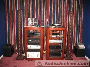 The Grado listening room